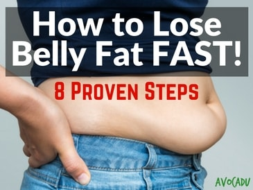 8 Proven Steps To Lose Belly Fats Fast