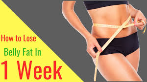 Loose Belly Fats In 1 Week
