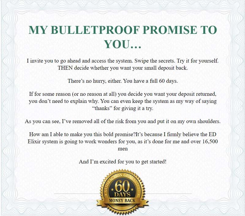 ed elixir money back guarantee