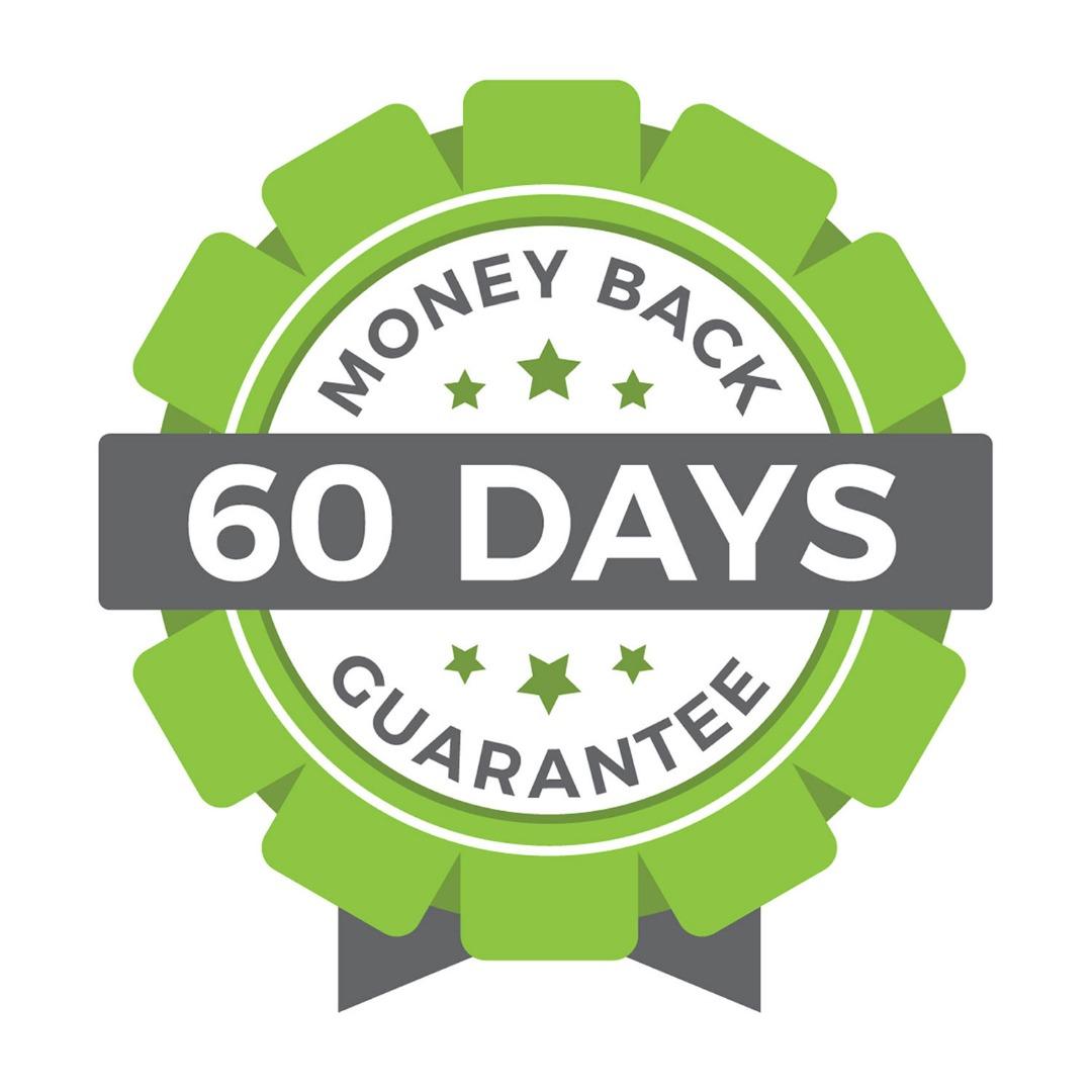 60 days money back guarantee if you buy meticore