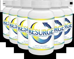6 bottles Resurge supplement